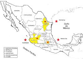 Queretaro Mexico Map by Export Gov Contact Us