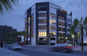 Apartment Contemporary Exterior Design  CAS - Apartment exterior design