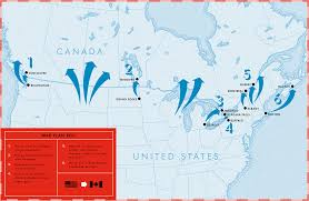 Plan 888 15 by War Plan Red How Would U S Invades Canada 1365 X 888 Mapporn
