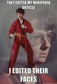 Nerd Karate Kid Meme - karate kyle know your meme