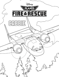 disney u0027s planes fire rescue coloring sheets character