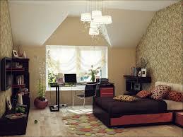 bedroom simple brown faux leather sofa bed kids ideas bedroom