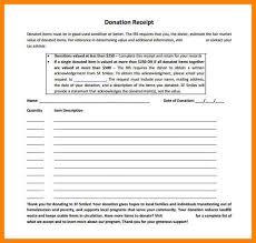 3 non profit donation receipt template resume format pdf