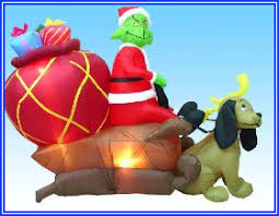 Snoopy Inflatable Christmas Decoration by Grinch Inflatable U2013 For The Mean Ones Inflatable Christmas
