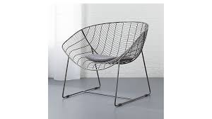grey chair cushion cb2