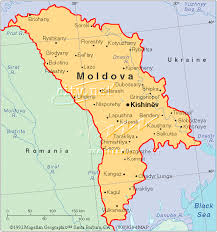 where is moldova on the map kishinev map of moldova