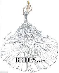 kim kardashian u0027s wedding gown imagined by bridal designers daily