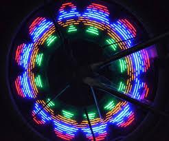 wheel spoke lights