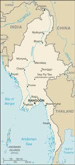 map of cities list of cities in myanmar