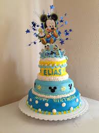 mickey mouse first birthday cake mickey mouse first birthday