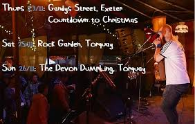 The Rock Garden Torquay Sam On This Week S Gigs You See A Few Of