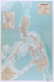 Philippines On World Map by Amazon Com Map Poster Philippines 24