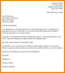 education cover letter new teacher director cover letter sample