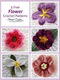 Crochet Designs Flowers 1034 Best Crochet Flowers 1 Images On Pinterest Flower Crochet