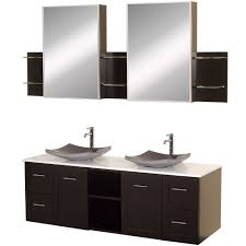 avara 60 inch double sink bathroom vanity set