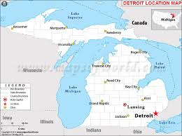 map usa detroit where is detroit michigan where is detroit mi located in usa