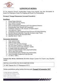 membuat surat keterangan berbadan sehat lowongan kerja pt pos indonesia kantorpos watone 92700