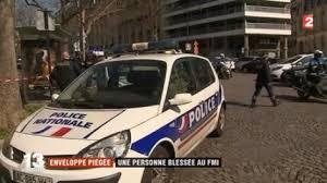 siege le parisien explosion d un colis piégé au siège parisien du fmi un blessé