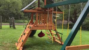 gorilla high point swing set paradise youtube
