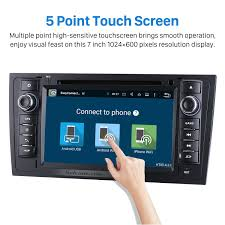 6 0 1997 2004 audi a6 s6 rs6 radio dvd gps navigation system with