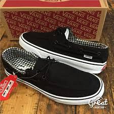 Jual Vans Zapato jual vans zapato black white grade ori di lapak great onlineshop