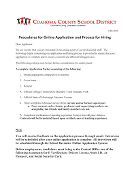 How To Write A Resume For Teaching Job by Coahoma County District