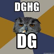 Art Student Owl Meme - dghg dg art student owl meme generator