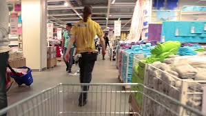 Ikea Services Saint Petersburg Russia Circa May 2014 Movement Through The