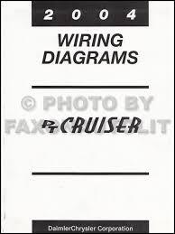 2004 chrysler pt cruiser wiring diagram manual original