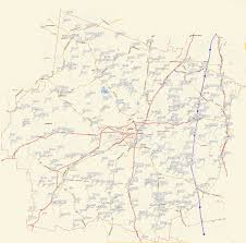 Tennessee County Map by Maury County Tennessee Mapping