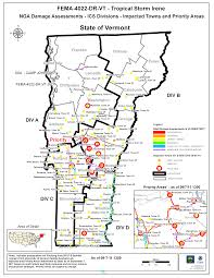 Map Of Vermont Towns Irene Data And Resources Vermont Center For Geographic Information