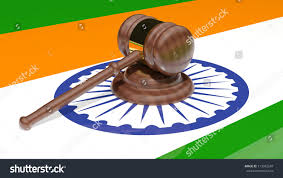 The Flag Of India Gavel On Flag India Stock Illustration 113342587 Shutterstock