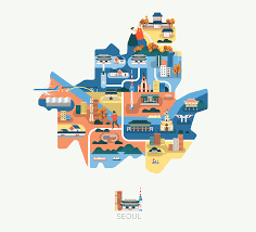 Maps Of Asia Maps Of Asia On Behance