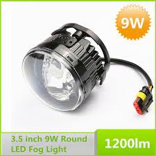3 inch fog light kit 2015 new pair led fog lights 9w 3 5 inch round driving l assembly