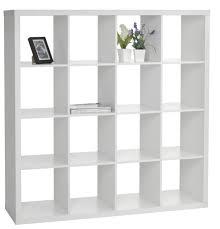 White Melamine Bookcase by Rumdeler Bilbao 16 Rum Hvid Jysk Jysk Flytter Hjemmefra