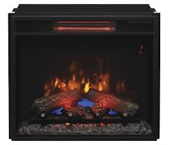 Realistic Electric Fireplace Insert by New Infrared Electric Fireplace Inserts From Classic