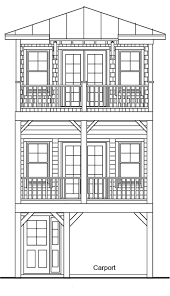 elevated piling and stilt house plans page 9 of 47 coastal