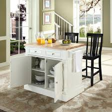 island chairs for kitchen briliant idea block top kitchen island white black back stools