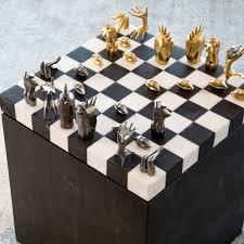 Futuristic Chess Set Mcm Chess Set Mid Century And Cool Chess Sets Pinterest