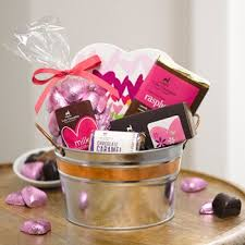 gourmet chocolate gift baskets chocolate gift buckets of gourmet