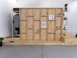 Diy Wood Bedroom Furniture Creative Wooden Sleeping Pods With Built In Furniture As Parts Of