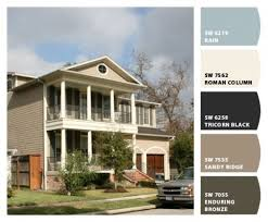 exterior color schemes for ranch style homes interior design ideas