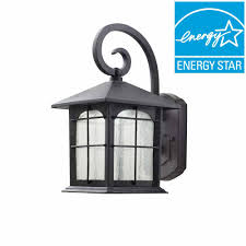 home decorators collection aged iron outdoor led wall lantern home decorators collection aged iron outdoor led wall lantern