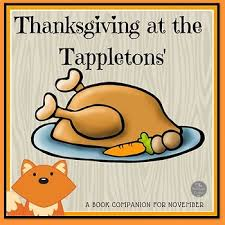 thanksgiving at the tappletons book companion by moonlight
