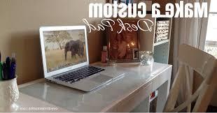 acrylic desk mat custom size make a custom desk pad any size design overthrow martha with