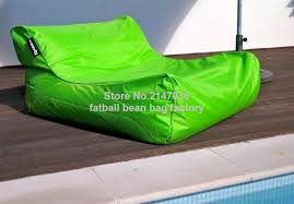aliexpress com buy green water float bean bag furniture double
