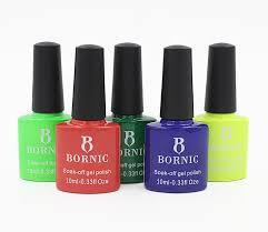 bornic approved uv soak off gel nail colors soak off nail polish