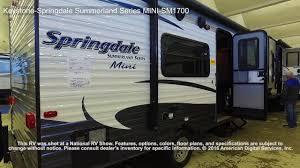 keystone springdale summerland series mini sm1700 youtube