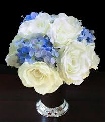 hydrangea centerpiece roses hydrangeas centerpiece your colors made in your