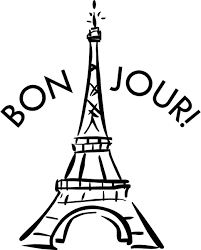 Eiffel Tower Wall Decals Bon Jour Eiffel Tower Vinyl Decal Wall Stickers Paris French Decor